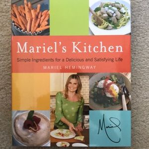 Like New Hardcover Mariel's Kitchen Cookbook